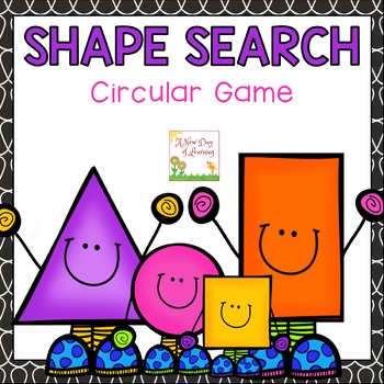 Shape Search: A Circular Game for 2D (Plane) Shapes