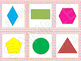 Shapes - Math Centers and Games