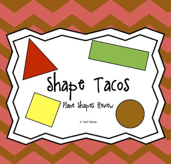 Shape Tacos {Integrate Art & Math for Cinco de Mayo}
