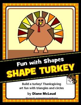 Shape Turkey—A Fun Thanksgiving Art Activity