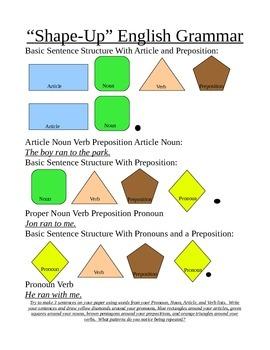 Shape Up English Grammar - Prepositions