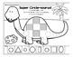 Shape-a-saurus  2D Shapes Fun Sheets (Dinosaur Theme)