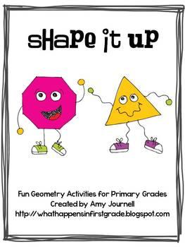 Shape it Up!  A Geometry Mini-Pack