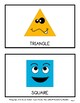 Shapes - 2D Shapes with Faces - Wall Displays - Grades 1-6