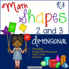 #betterthanchocolate Shapes 2 and 3 dimensional Common Core