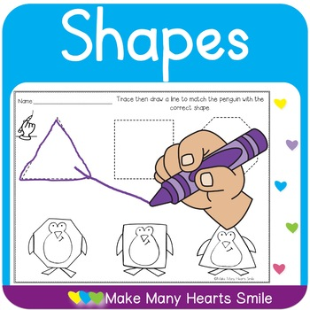 Shapes Trace and Match