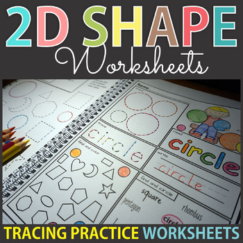 2D Shapes Worksheets, Posters