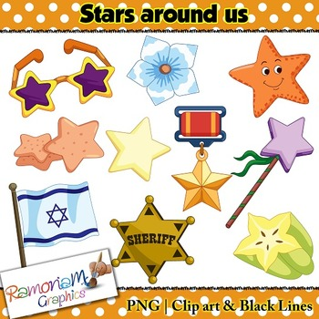 Shapes 2D Star Clip art