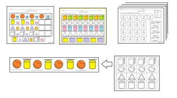 Shapes 3 Dimensional English only activities pack #2 cscop