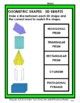 3D Shapes - Match the 3D Shape to the Shape Word - Grades