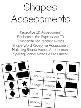 Shapes Assessments