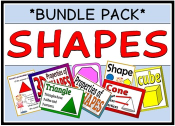 Shapes (BUNDLE PACK)