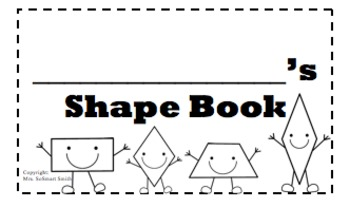 Shapes Booklet-Editable-Printer Friendly