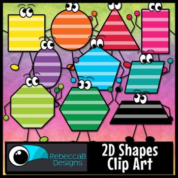 Colorful Shapes Clip Art