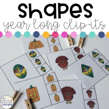 Shapes Clip-Its for the YEAR!
