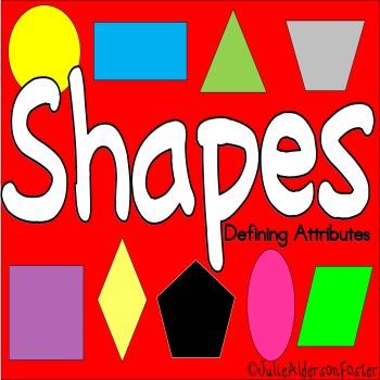 Shapes                Defining Attributes