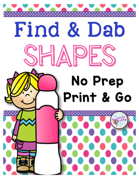 Shapes: Find and Dab