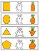 Shapes Fun / Interactive Math Cards & Lessons / Montessori
