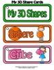 Shapes - My 3D Shape Cards