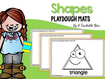 Shapes Playdough Mats