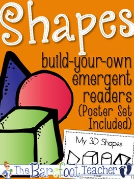 Shapes - Posters & Emergent Readers