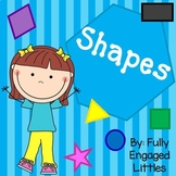 Preschool Shapes Activities-Short books, Patterns, and Matching