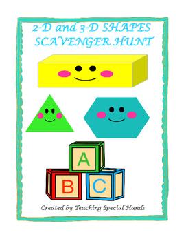 Shapes Scavenger Hunt- QR scanner