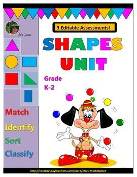 Shapes Unit: Grades K-2