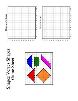 Shapes Versus Shapes (A Mathematical Battle)