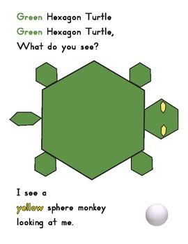 Shapes amendment Green Turtle