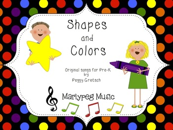 Shapes and Colors Songs for Pre-K and Kindergarten