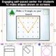 Shapes and Geoboard Math Station - BUNDLE! Kindergarten (K
