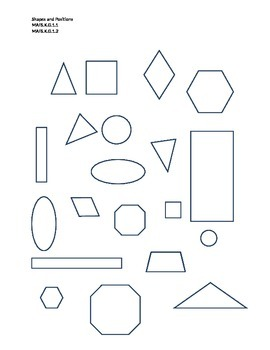 Shapes and Positions
