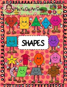 Shapes clip art