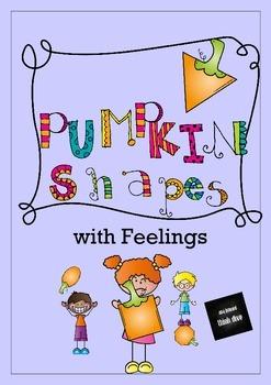 Shapes with Feelings - Pumpkin