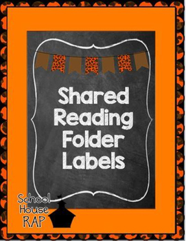 Shared Reading Folder Labels