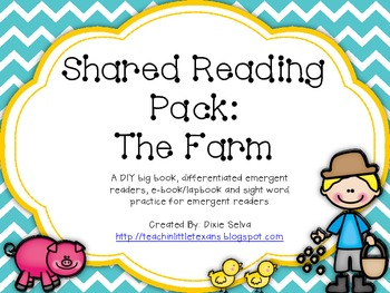 Shared Reading Pack: The Farm