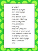 Shared Reading Poetry