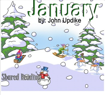 Shared Reading Poetry: January(SMARTboard, Gr 1-2)