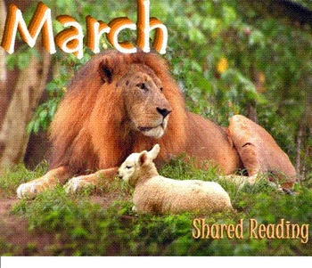 Shared Reading Poetry: March (SMARTboard, Gr 1-2)