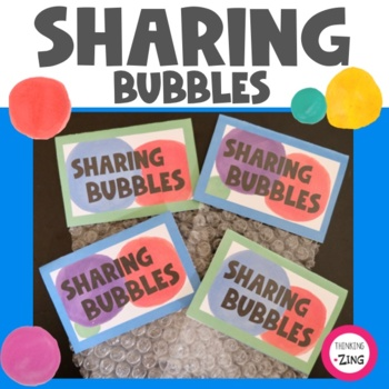 Sharing Bubbles- Ice Breaker Activity