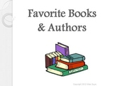Sharing Favorite Books and Authors PowerPoint