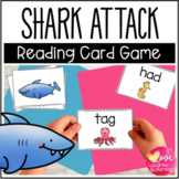 #betterthanchocolate Shark! A CVC Reading Fluency Card Game