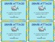 Shark Attack!  Addition Card Game (Facts 5-9)