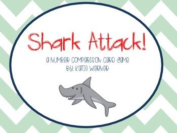 Shark Attack: Number Comparison Card Game