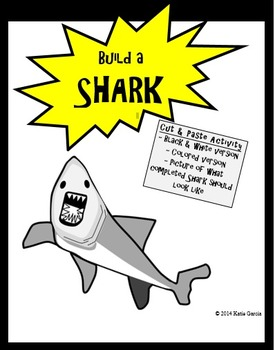 Shark Cut Out and Paste