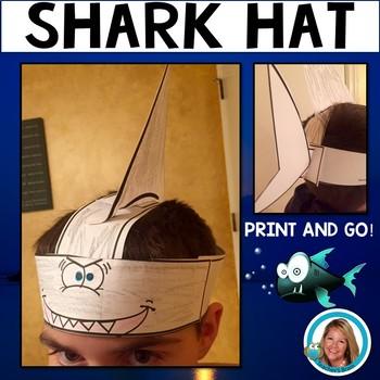 Shark Hat Headband for Ocean Celebrations by Teacher's Brain