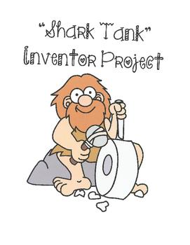 Shark Tank Science Inventor Project -  Writing, Speech, Vi
