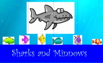 Sharks and Minnows Smart Board Game!