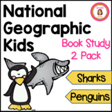 Sharks and Penguins Informational Book Club Packets